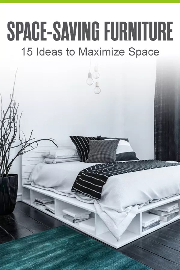 Looking for space-saving furniture ideas for better home organization and storage? From expandable tables to bunk beds, check out these small space living ideas! via @extraspace