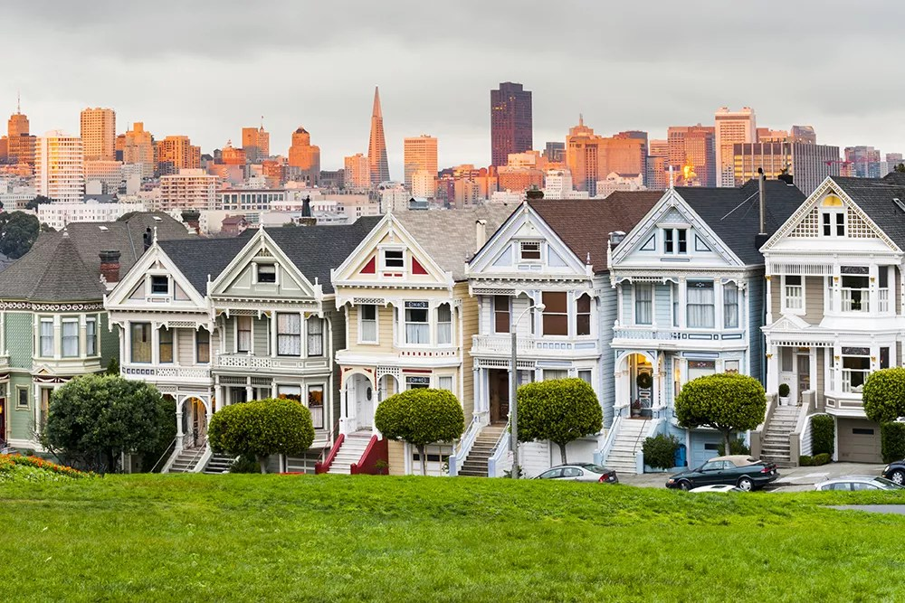 Best Neighborhoods in San Francisco for Singles & Young Professionals via @extraspace