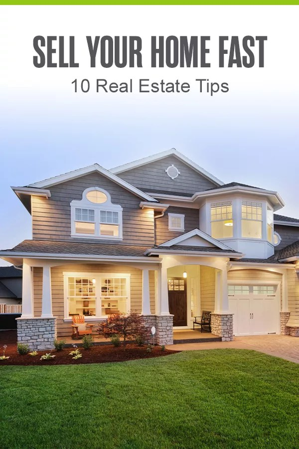 Whether you're in a buyer's market or seller's market, it's possible to sell your house fast! Check out these ten real estate and home staging tips to learn how you can sell your home quickly! via @extraspace