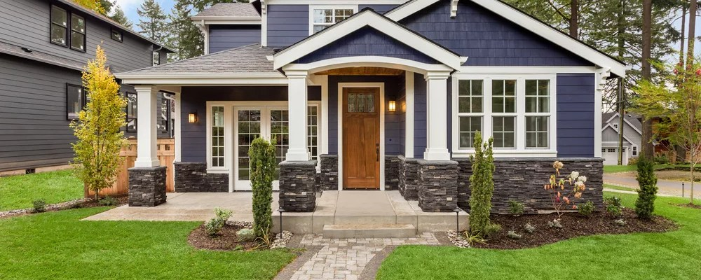 Exterior of home with great curb appeal