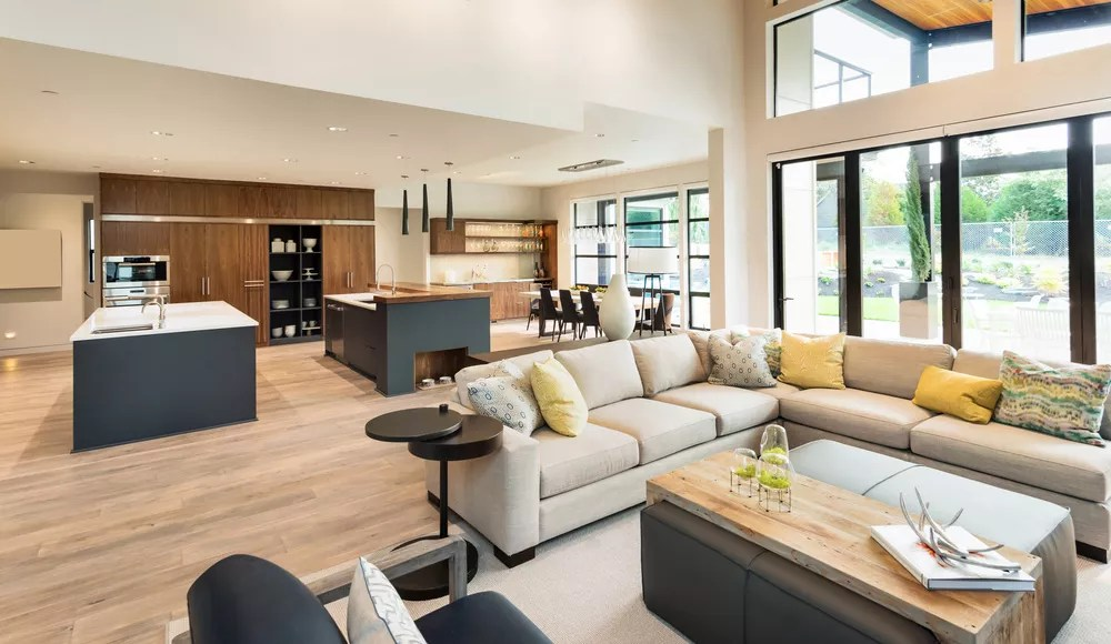 Open Floor Plan Concept For Home Design