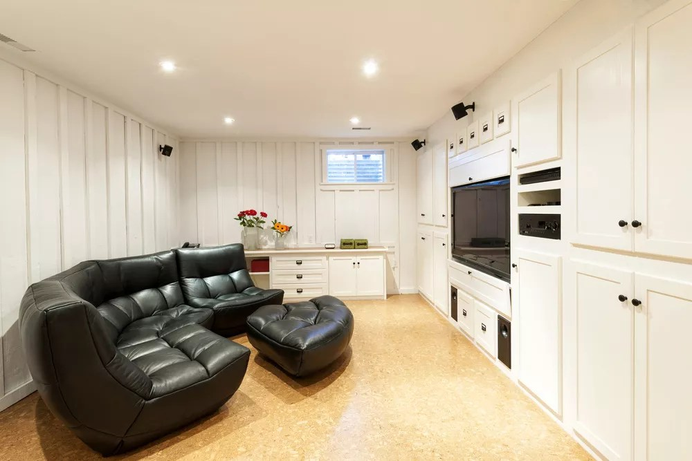 Finish Your Basement with These 19 Renovation Ideas via @extraspace