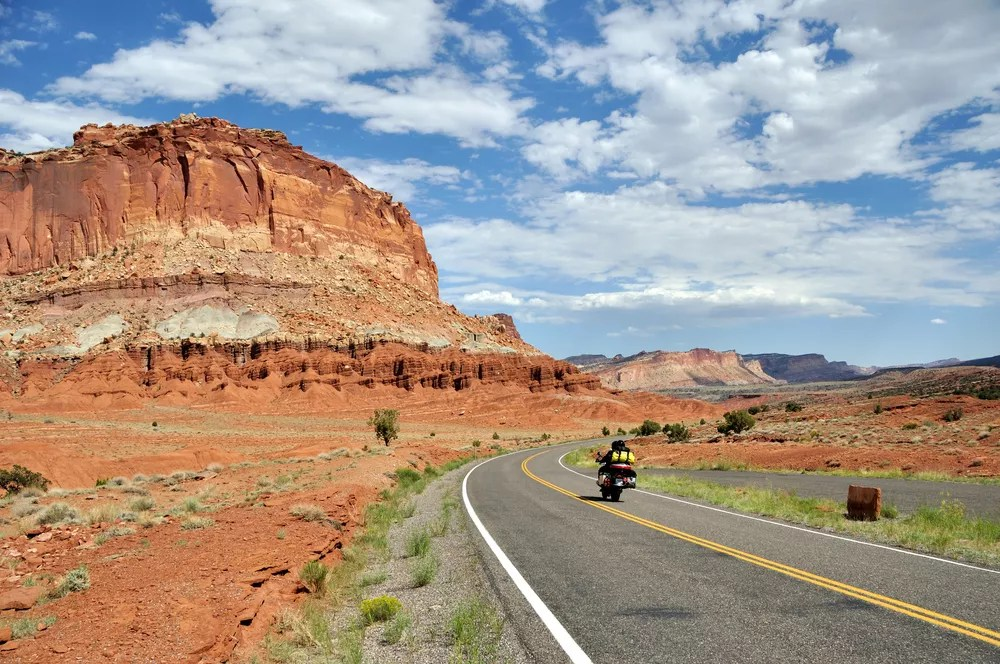 Motorcycle Road Trip Guide: Scenic Rides Across the U.S. via @extraspace