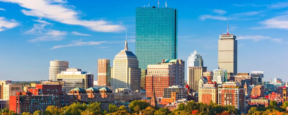 Skyline of Downtown Boston