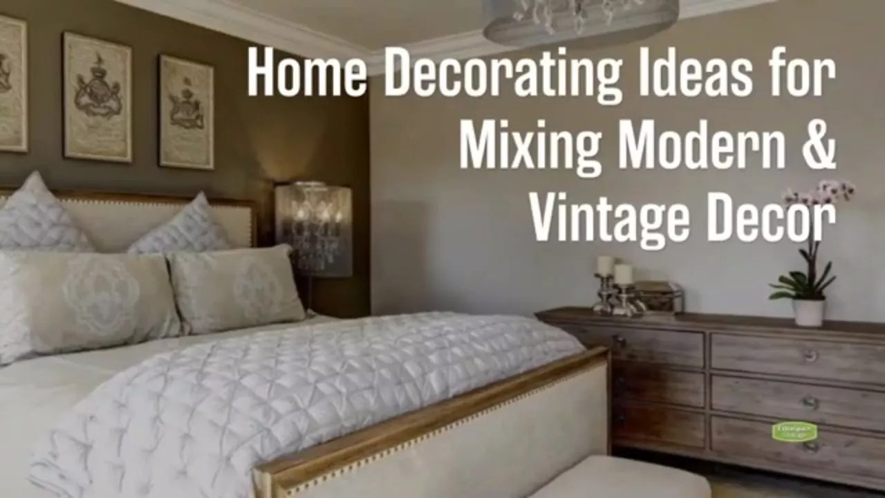 8 Home Decorating Ideas for Mixing Modern & Vintage Decor  Extra