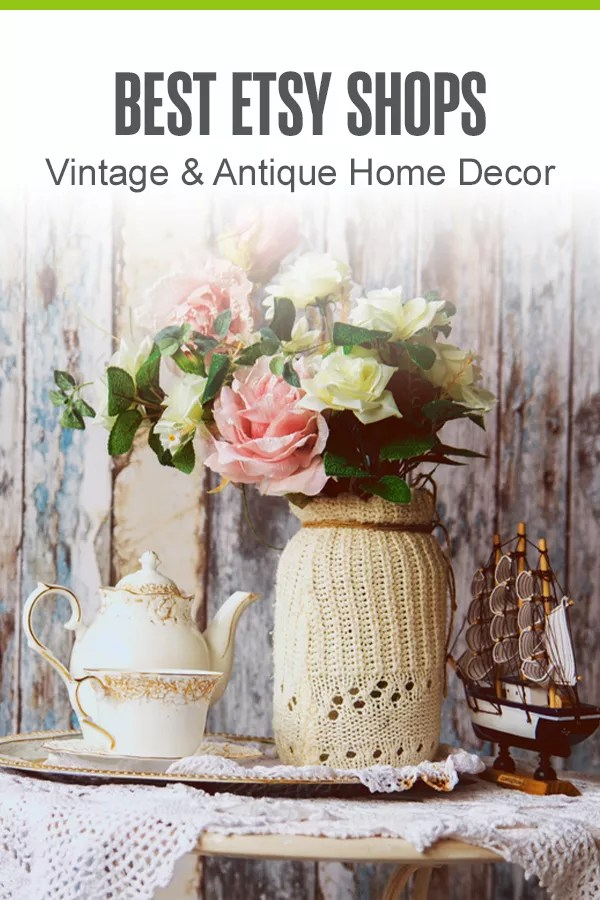 Looking for the best vintage Etsy shops for home decor? Here are 9 top Etsy sellers who are sure to have vintage and antique items for every budget and style! via @extraspace