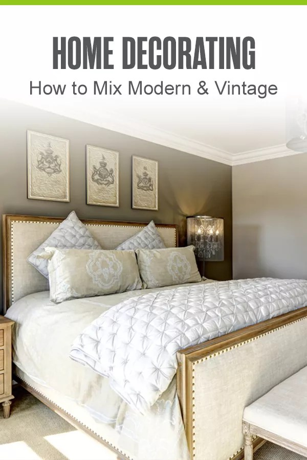 Trying to mix modern decor with antiques and cool vintage finds? We have the home design inspiration you need. Check out these 16 home decorating tips for blending old and new in your home! via @extraspace