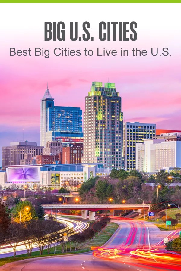 Have you always dreamed of living in a big city? With affordable costs of living, job opportunities, and fun things to do, these are the eight best big places to live in America! via @extraspace