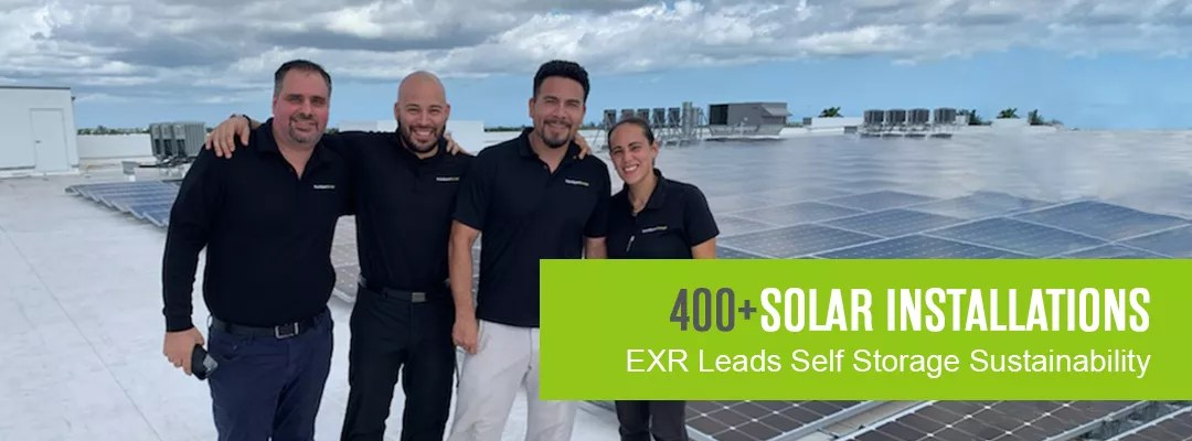 400+ Solar Installations: Extra Space Storage Leads Self Storage Industry