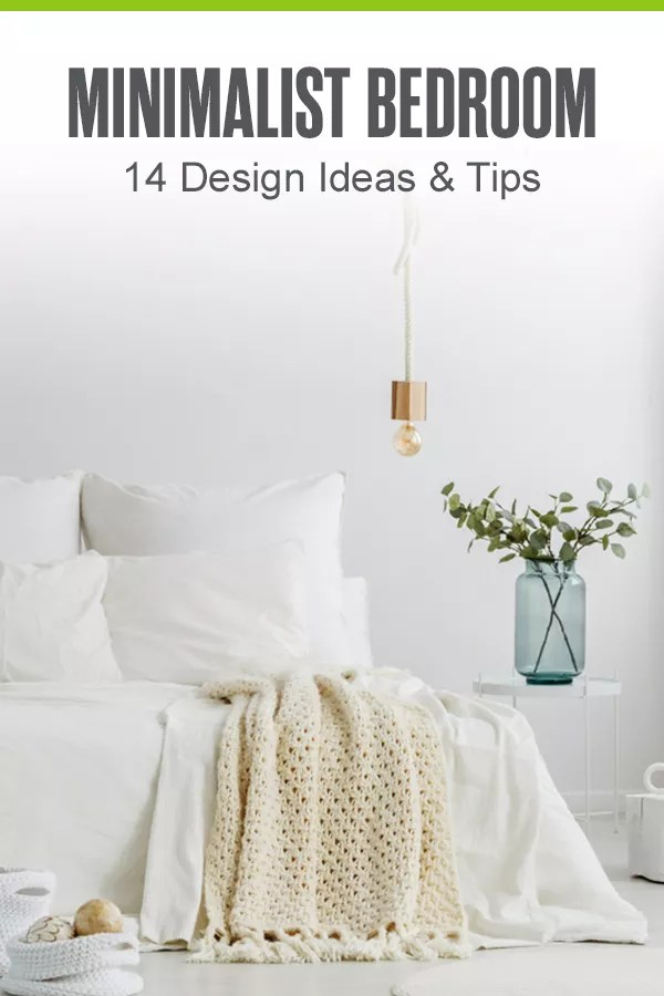 Looking to incorporate minimalism into your bedroom design? Check out these 14 ideas for designing your perfect minimalist bedroom! via @extraspace