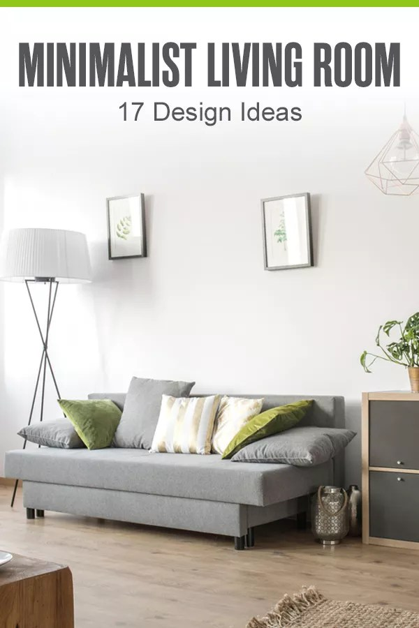 Want to use minimalism in your living room? From investing in quality furniture to taking advantage of natural light, we show you how to design a minimalist living room in this guide! via @extraspace