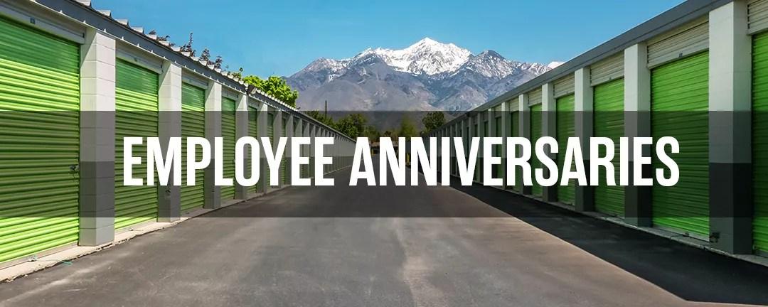 Extra Space Storage Employee Anniversaries