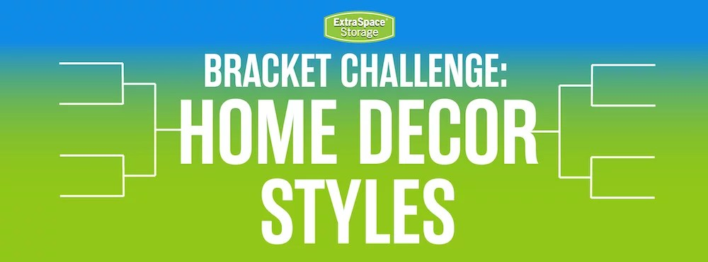 Which Home Decorating Style Won Our 2020 Bracket Challenge? via @extraspace