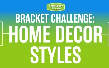 Extra Space Storage Bracket Challenge: Home Decor Styles