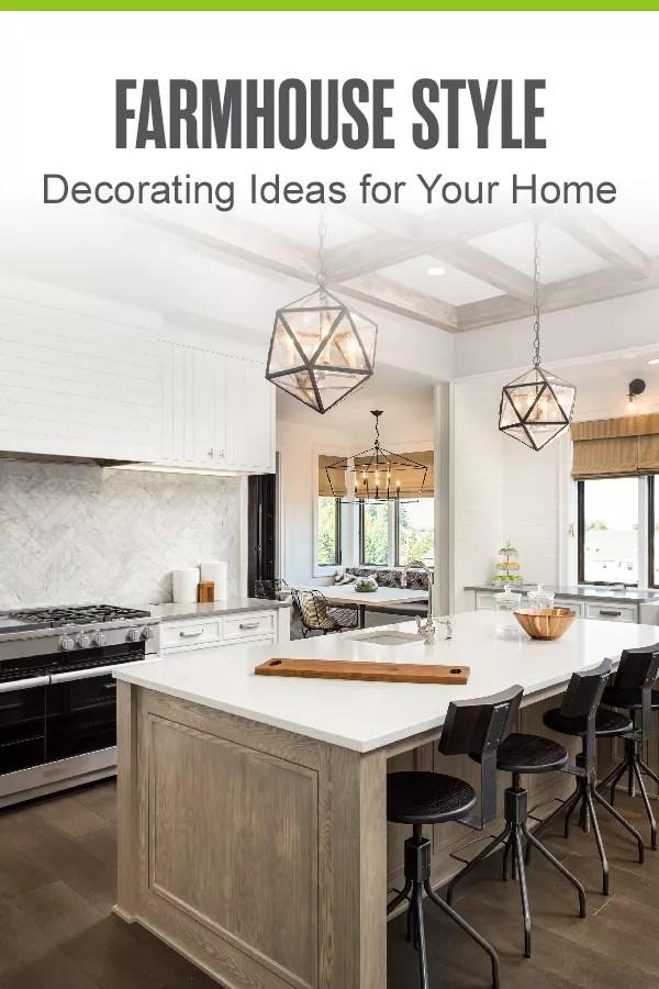 18 Farmhouse Decorating Ideas For Your, Farmhouse Kitchen Wall Decorating Ideas