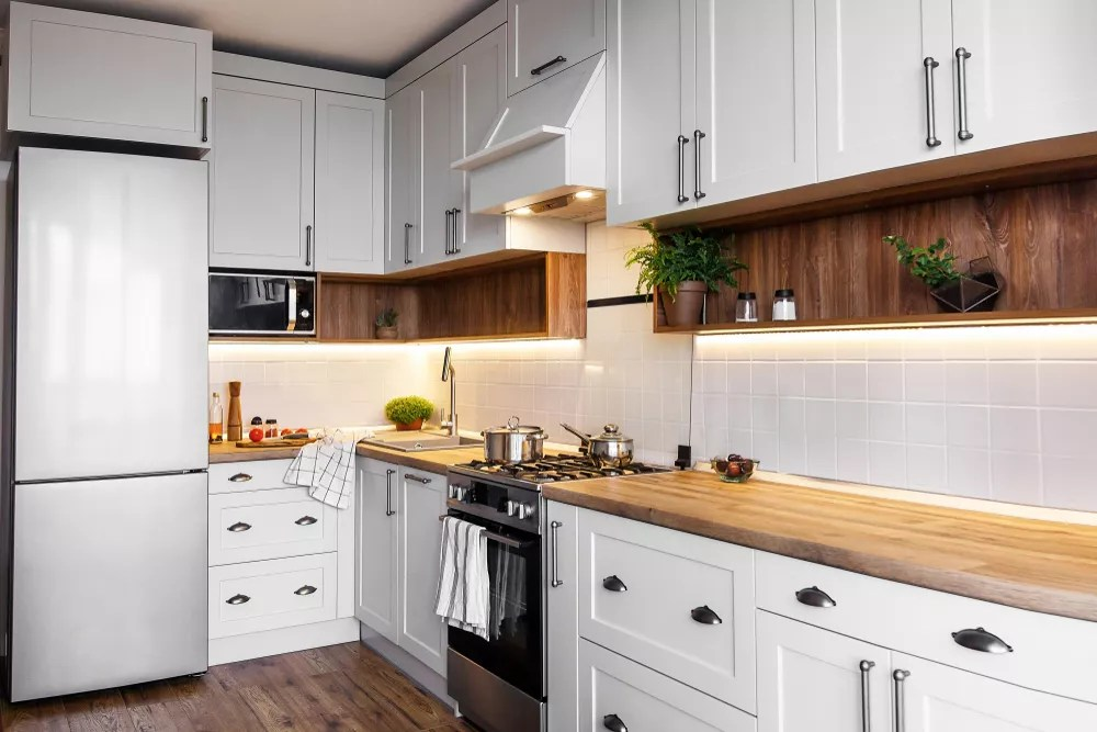 Featured Image: Updated kitchen in home