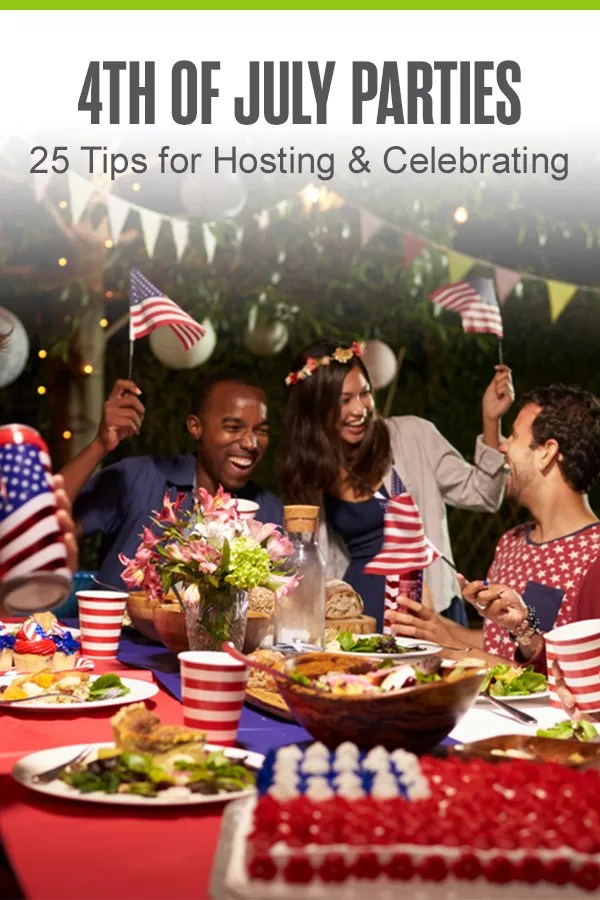 Looking for Fourth of July party ideas? Throw the best Independence Day Party on the block with these fun summer food, decoration, and activity ideas! via @extraspace