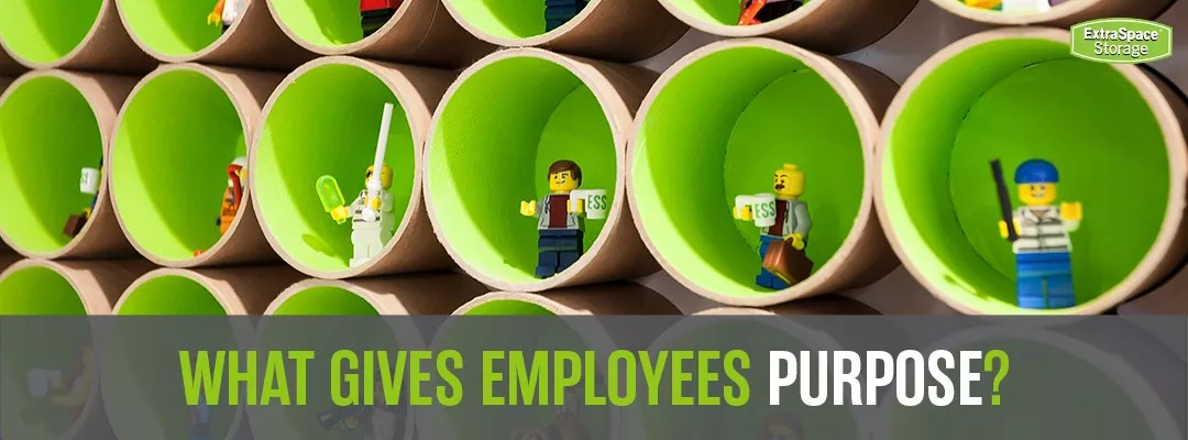 What Gives Employees Purpose? Extra Space Storage graphic
