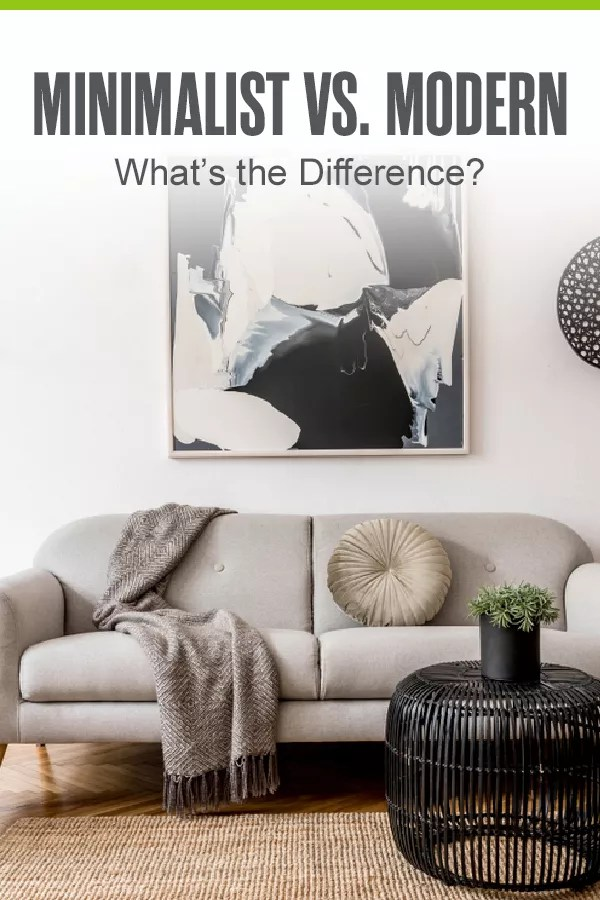 Is there a difference between minimalist home design and modern home design? Check out this guide to learn more about how these popular home decorating styles differ! via @extraspace