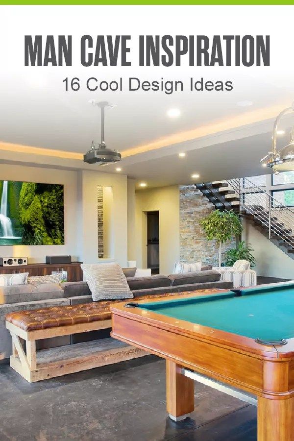 Have you always wanted a man cave but don't know where to start? Check out these 16 epic man cave ideas to draw inspiration for your perfect home escape! via @extraspace