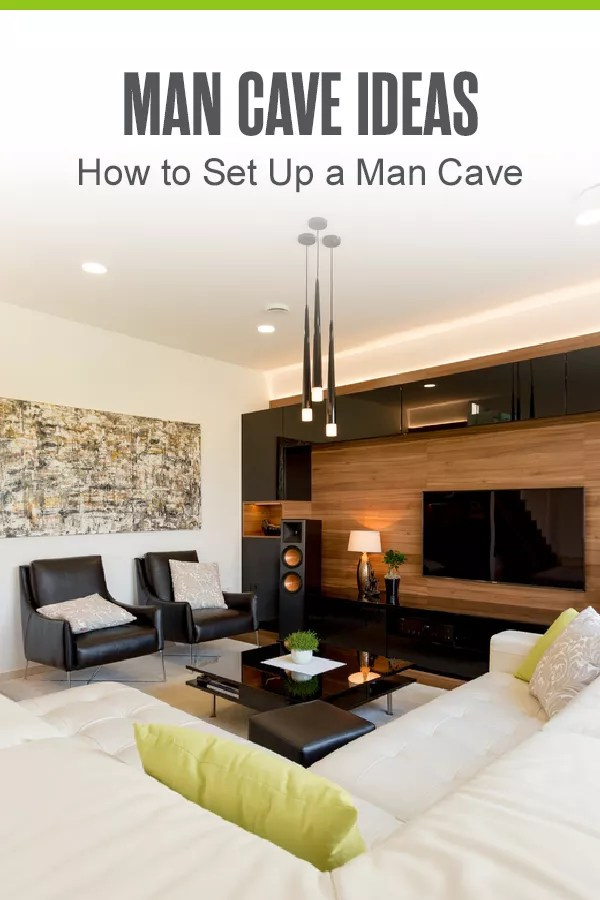 Have you always wanted a man cave at home but don't know where to get started? Check out these ideas for the best rooms and best themes for your man cave! via @extraspace