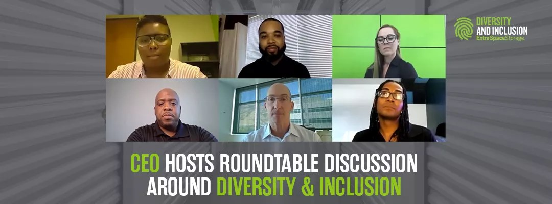 Featured Image: CEO Hosts Roundtable Discussion Around Diversity & Inclusion: Extra Space Storage
