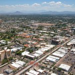 Aerial Photo of Downtown Mesa, AZ