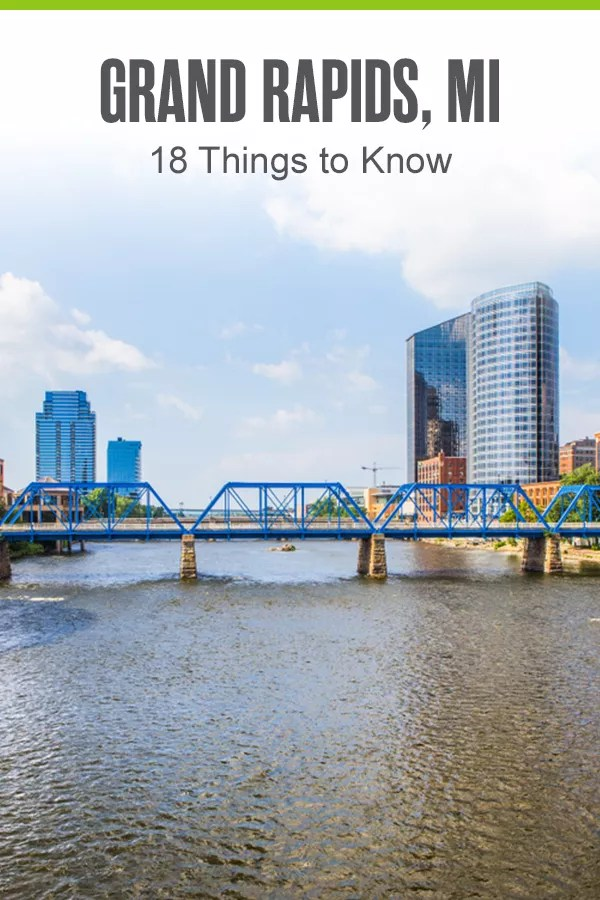 Thinking of living in Grand Rapids? Michigan's second-largest city provides affordable living and big city amenities. Check out these 18 things to know about Grand Rapids! via @extraspace