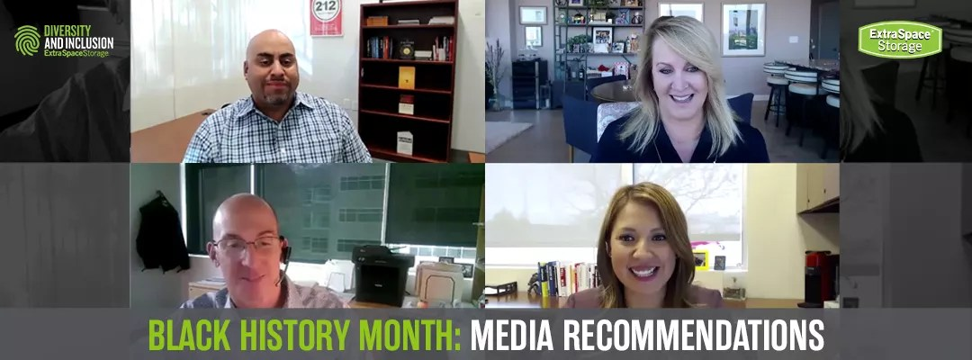 Featured Image: Extra Space Storage: Black History Month: Media Recommendations