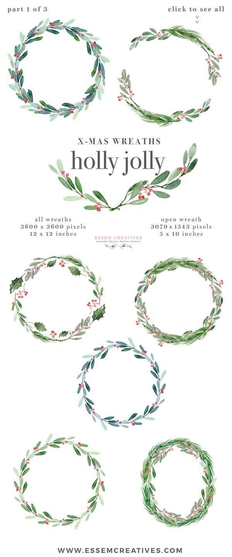 wreath template # 73
