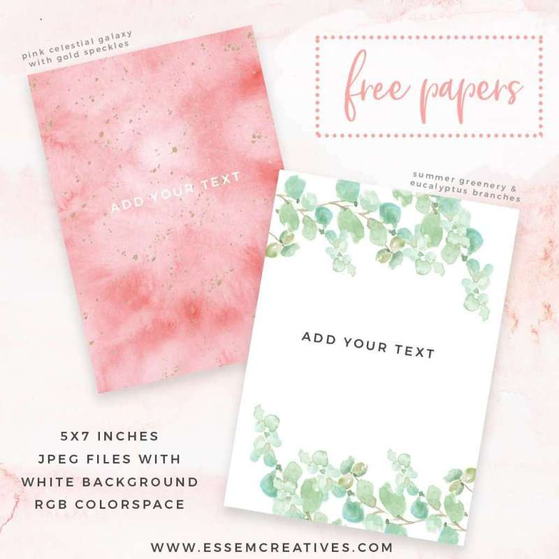 adorable some free watercolor backgrounds to get started on