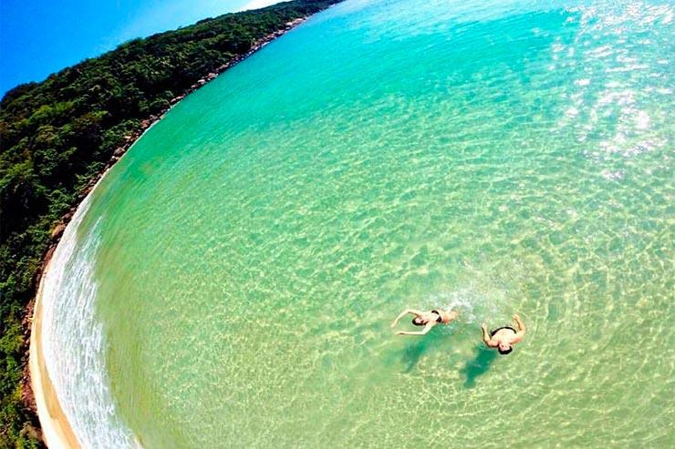 Praias paradisíacas do Sudeste (Foto: Blog Fui Ali Instagram)