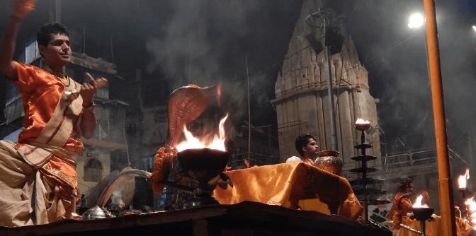 Vidéo: Arati à Varanasi