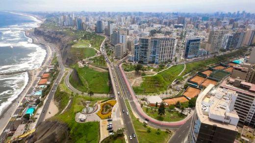 Lima vue du ciel
