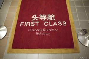Economy, business or first class?