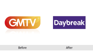 GMTV Re-brand to Daybreak