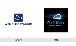 Wembley Stadium Re-brand