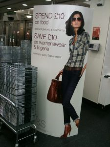 Picture of ultra skinny marks and spencer model