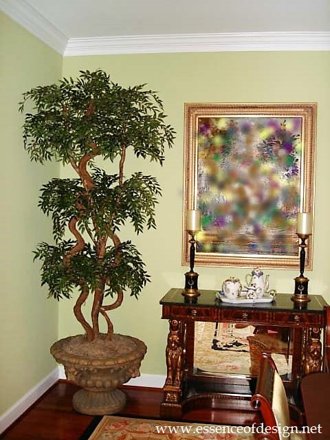 Potomac-MD-interior-designer-Shiva-Rostami-dining-room-classic-traditional-topiary