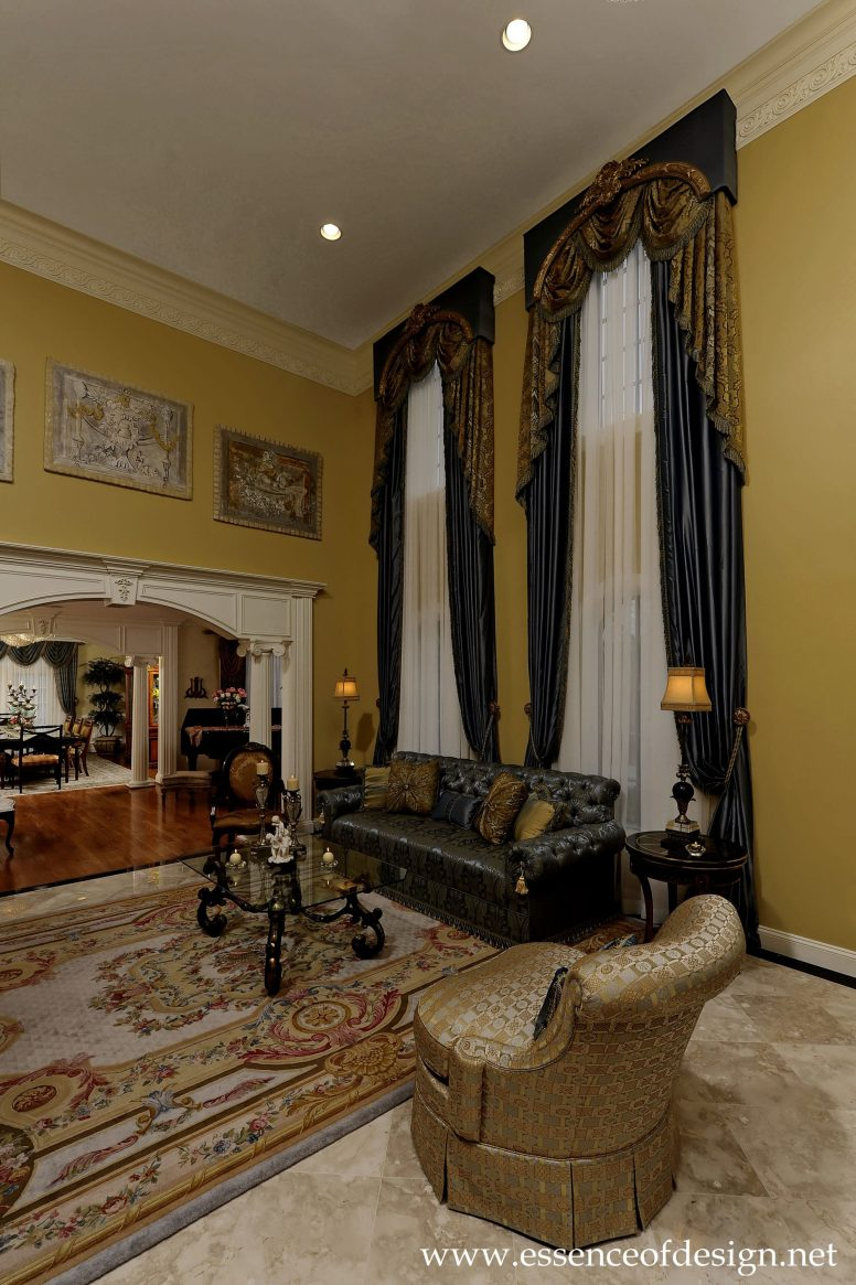 Potomac-Maryland-interior-designer-Shiva-Rostami-2story-high-living-room-grand-residence-McLean-VA