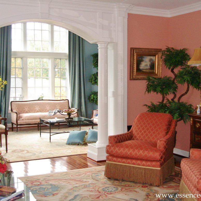 Potomac-Maryland-interior-designer-Shiva-Rostami-living-room-Cinnamon-Chairs-McLean-VA
