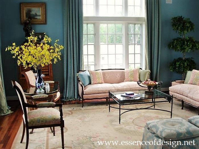 Potomac-Maryland-interior-designer-Shiva-Rostami-sunroom-living-room-highend-residence-McLean-VA