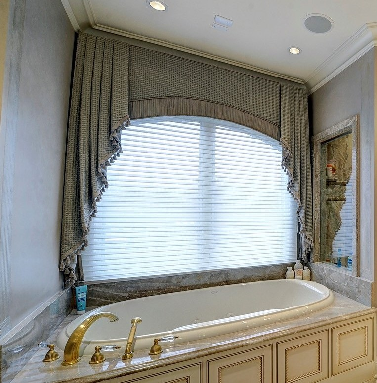essenceofdesign.net-Potomac-MD-interior-designer-shiva-Rostami-elegant-luxury-window-treatment-silk-master-bathroom-potomac-residence
