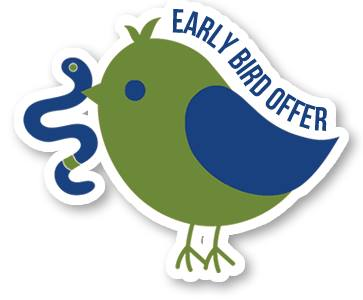Early-Bird Anmeldung gestartet