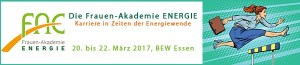 BEW: Frauen-Akademie ENERGIE