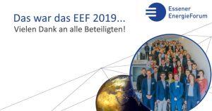 Das war das EEF 2019…