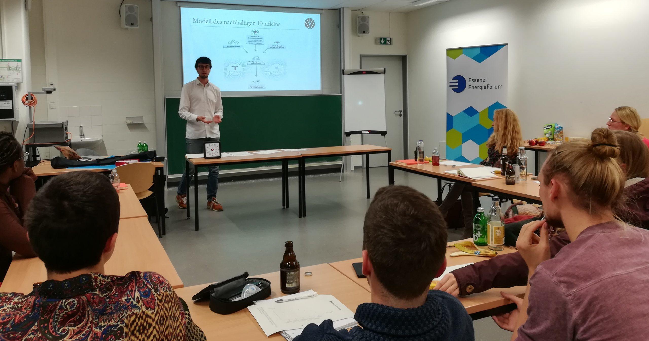 """Workshop """"Nachhaltigkeit und Energiewende"""""""