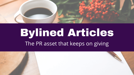 PR, copywriting, bylined articles, corporate storytelling
