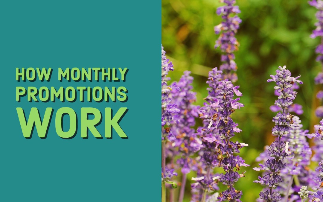 How Young Living monthly promotions work