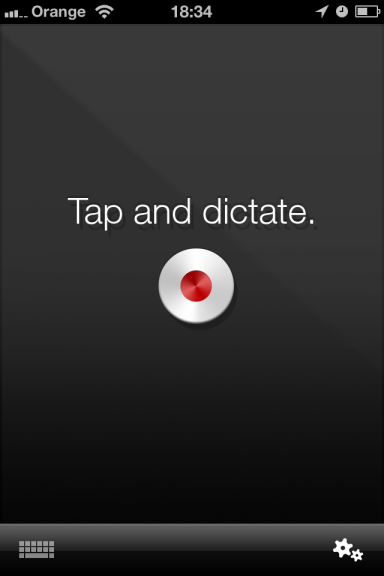 Nuance Dragon Dictate 2 Nuance Dragon Dictation Speech Recognition for iPhone Review